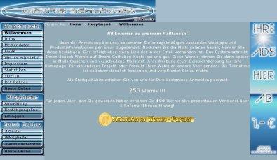 Wernis-Schleuder-Mailtausch